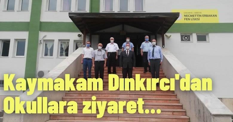 Kaymakam Dınkırcı'dan Okullara ziyaret
