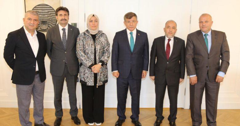 Davutoğlu'nun Sakarya'ya geliş programı ertelendi.