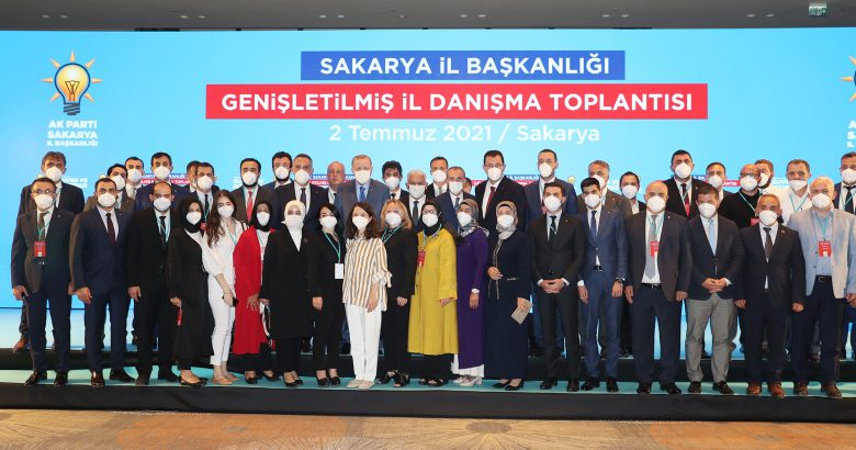 """""""AK Parti dava, sevda, birlik ve beraberliktir"""""""