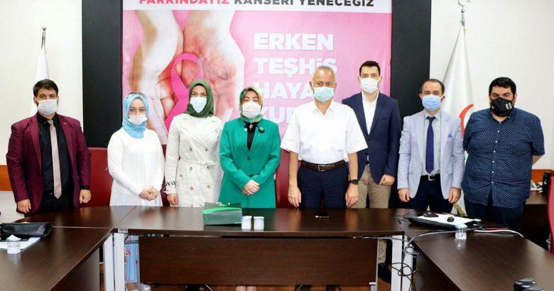 Yeşilay'dan İl Sağlık Müdürü Aziz Öğütlü'ye Ziyaret