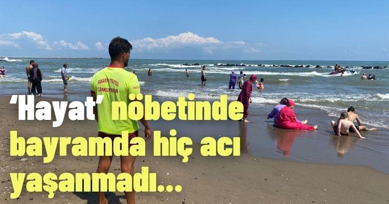 Cankurtaranlar bayramda 83 kişiyi boğulmaktan kurtardı