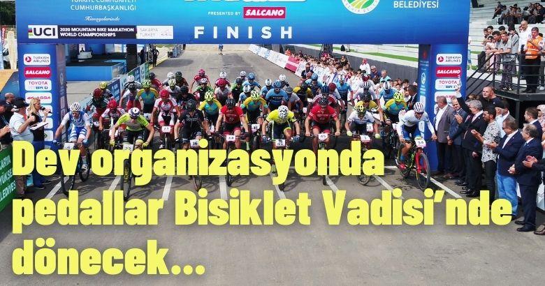 Uluslararası heyecan Ayçiçeği Bisiklet Vadisi'nde yaşanacak
