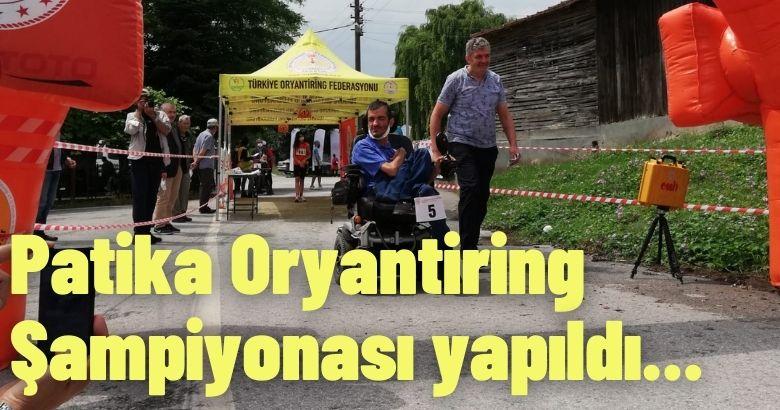 Türkiye Patika Oryantiring Şampiyonası Sakarya' da Yapıldı