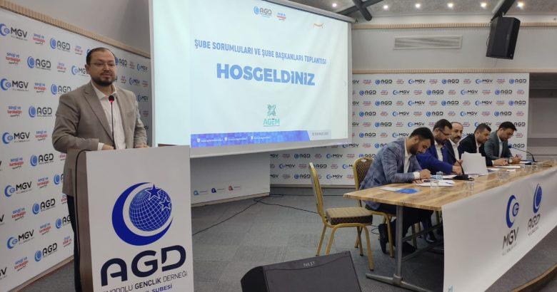 AGD Şube Sorumluları ve Şube Başkanları Toplantısı gerçekleşti