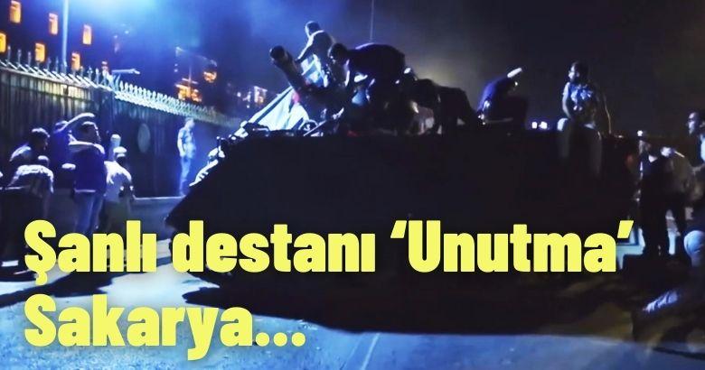 Büyükşehir, 15 Temmuz için 'Sakarya' klibi yayınladı