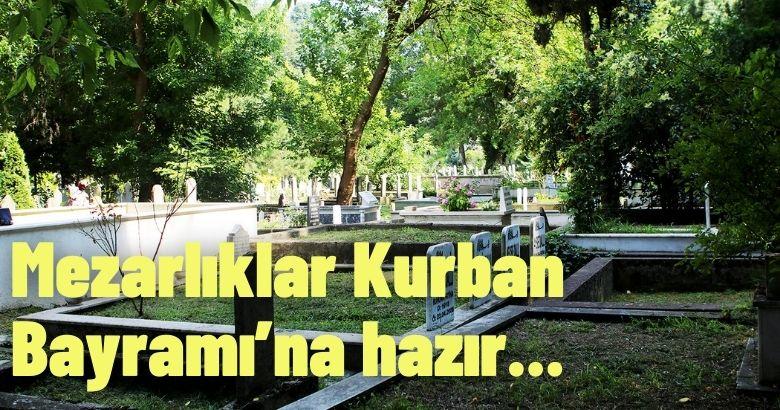 Büyükşehir, 16 ilçedeki 909 mezarlığı tertemiz hale getirdi