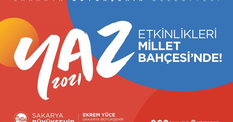 Büyükşehir Belediyesi 2021 Yaz Etkinlikleri başlıyor