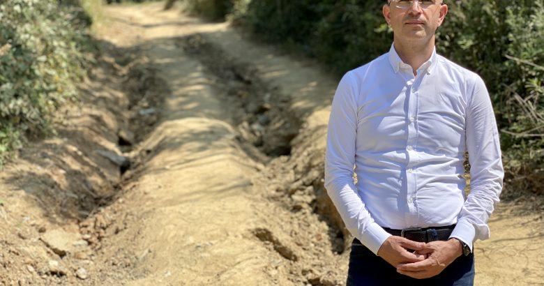 Serbes: Selden tahrip olan fındık bahçe yolları yapılmalı…