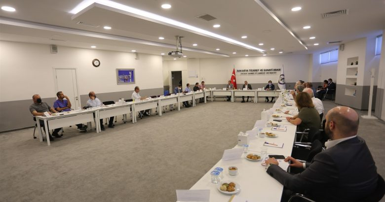 Komite Başkanları Ortak Toplantıda Bir Araya Geldi