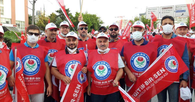 Memur-Sen'liler Ankara'da Toplandı.