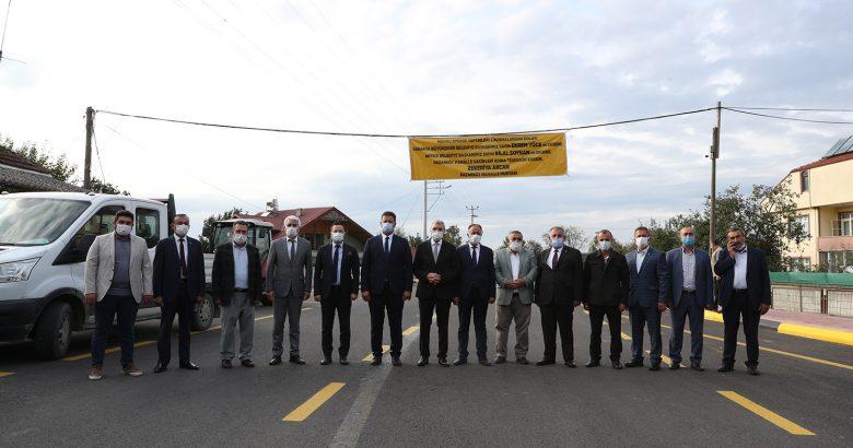 3 bin metre yol, 7 bin 500 ton asfalt ve 3 Milyon 266 Bin Lira yatırım