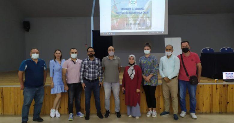 Erasmus + KA104 Yetişkin Eğitimi Projesi İçin Hollanda'ya gidecekler