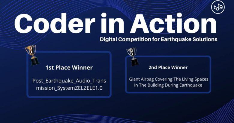 Sağlık Bilimleri Fakültesinden Deprem Yarışmasında İkincilik