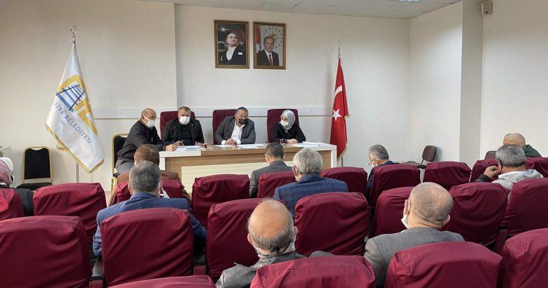 Arifiye Belediye Meclisi 6 maddeyi görüşerek karara bağladı.