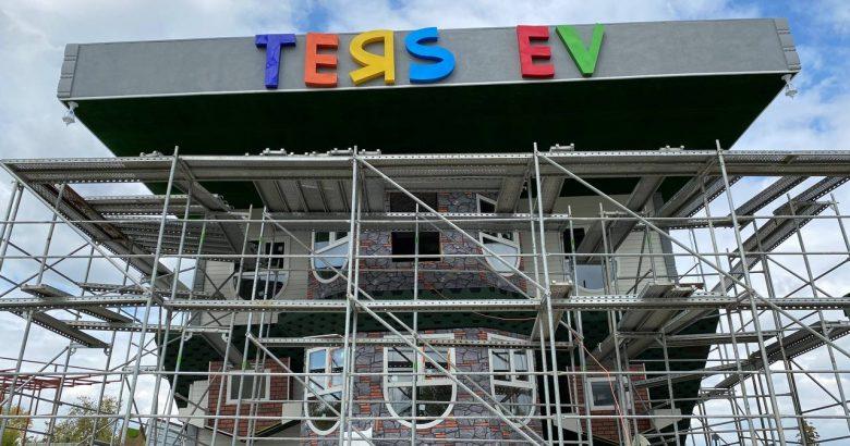 Büyükşehir Belediyesi Ters Ev'de çalışmalarını tamamlıyor