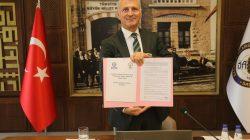 Filistin Qalqilya Ticaret Sanayi ve Tarım Odası ile İyi Niyet Anlaşması İmzalandı