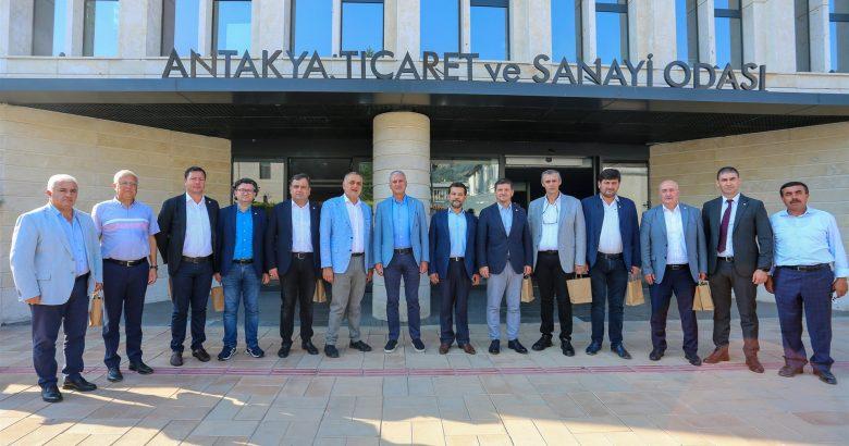 SATSO Heyetinden Antakya TSO'ya Ziyaret