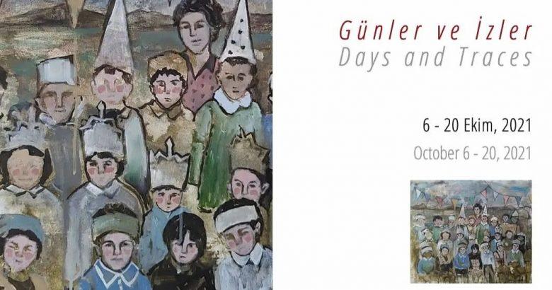 """Dr. Öğr. Üyesi Şirin Yılmaz'ın """"Günler ve İzler"""" Başlıklı Sergisi Galeri Soyut'ta"""